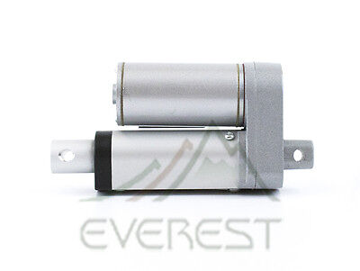 New Heavy Duty Linear Actuator 2  Inch Stroke 225 Pound Max Lift 12 Volt Dc 12V
