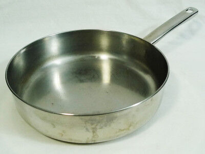- Le Cook's-Ware Stainless Steel Copper Tri-Ply Base Sauce Frying Sauté Pan 9.5