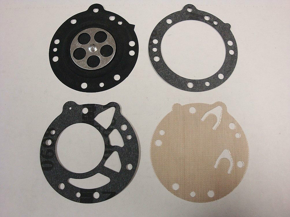 [till] [dg-5hl] Tillotson Hl Carburetor Gasket & Diaphragm Kit Hl108 112 117