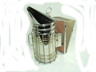 10 Pack - Beekeeping Large Hive Smoker Stainless Bee Hive Smoker Bees Beehive