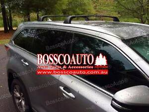 Silver or Black Roof Racks suitable for Toyota Kluger 2014 - 2017 Prestons Liverpool Area Preview