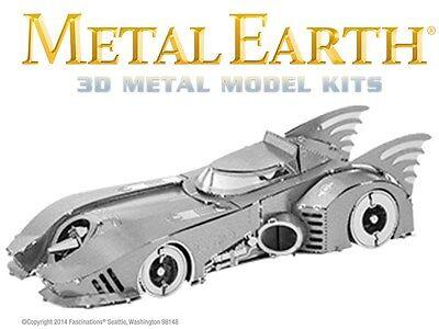 Fascinations Metal Earth Batman 1989 Batmobile Bat Mobile Laser Cut 3D Model Kit