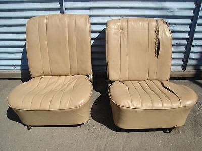 PORSCHE 356 PRE A FRONT SEAT SEATS 356A FAT BACK T2 T1