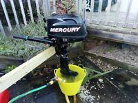 Mercury 4HP 4 stroke short shaft outboard engine