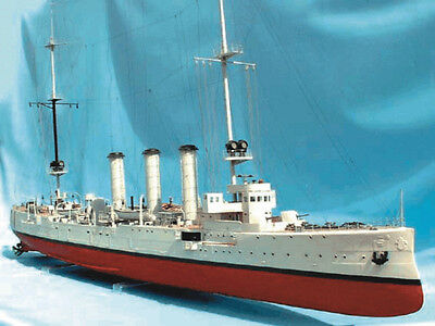 """Beautiful, intricate model ship kit by Deans Marine: the """"Emden"""""""