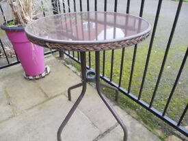 Tuscany Rattan outside table