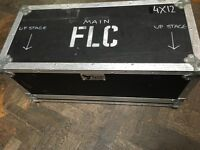 X3 FLIGHT CASES FOR MUSIC EQUIPMENT FOR SALE £150 IN TOTAL