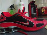 Nike shox...size 8,received as a gift from America, superb condition, worn once to try on