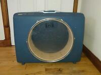 Handmade Samsonite Suitcase Drum