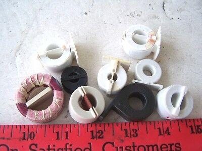 Ferrite Toroid Cores In Plastic Covers Lot Of 9