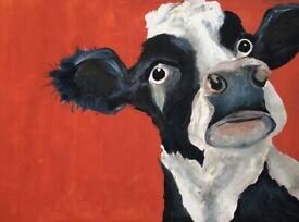Marley the Cow - Emily Johnston Artist