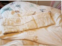 "Mamas and Papas ""millie and boris"" cotbed bedding"