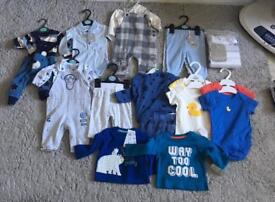0 to 3 month new boys baby cloth