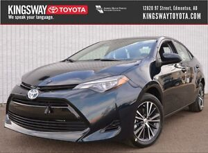 2017 Toyota Corolla LE CVT - Upgrade Package