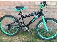Boys Alien Bike Special Edition Very Good Condition 20inch Wheels