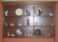 Collector/Decorative Plate Wall Unit - CHESTERMERE