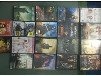 Various DVDs x 18