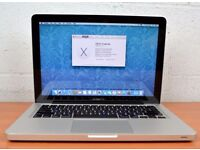 "Apple MacBook Pro i5 2.5Ghz 8GB Ram 500GB 13"" Final Cut Adobe Master Collection + 2 Yr Warranty STAR"