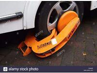"""FullStop"" Nemesis. Wheel Clamp/Security. Caravan/Motorhome/Trailer/Van/Cars etc RRP £199!"