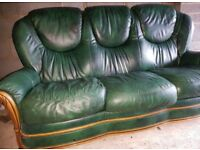 Free 3 seater sofa and arm chair