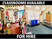 Small Hall Hire at Grasvenor School - Contact us for pricing PER HOUR!