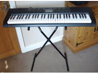 Casio CTK 1150 Electronic Full Size Keyboard with stand