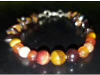 Gemstone bracelet mix2