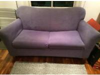 TWO SEATER SOFA BED. Free delivery!!!