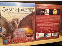 Game Of Thrones Seasons 1-6 Blu Ray, Brand New & Sealed, UK edition Dolby atmos remastered