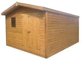 never used 14x8 shed Bargain £1000 delivered and fitted free