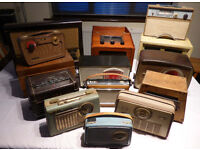 Diverse Collection of 14 Old Radios for Spares or Repair. Philips Bush Ferguson