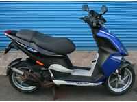 PIAGGIO NRG POWER DD 50cc MOPED NEW MOT LOW MILES RUNS AND RIDES SUPERB DISCS FRONT AND REAR L/C