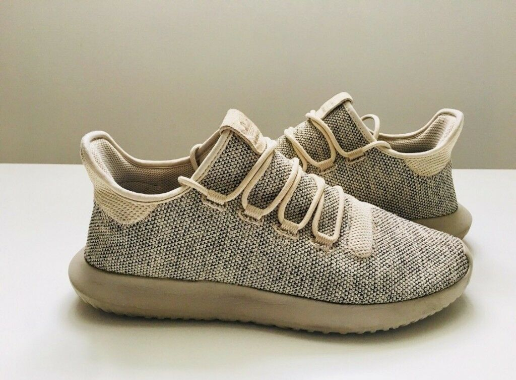0dc0ba6dafb18 Adidas Tubular Shadow Trainers   Runners Shoes UK size 10 Cream not yeezy
