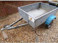Klinn Trailer, Fully Galvanised, Removable Tailgate, fitted Recessed Lights, Perfect For Tip Runs.