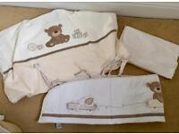 """""""Loved so much"""" cot / cot bed bedding"""