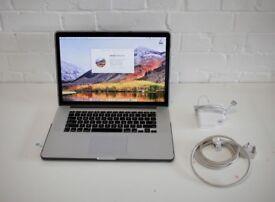 """Mid 2014 Macbook Pro 15"""" Retina display, 16GB RAM 500GB SSD 2.5 GHZ QUAD CORE i7"""