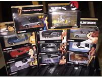 Corgi James Bond model cars