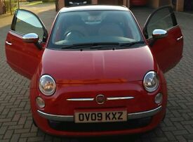Fiat 500 Red for sale