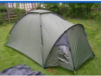 Brand new Eurohike Ness 2 man festival tent camping