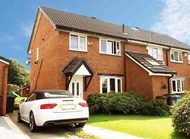 3 bedroom house for rent Moorside Oldham new paint - Cul de Sac