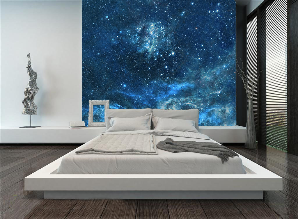 3d mysteri se sternenhimmel 2 fototapeten wandbild. Black Bedroom Furniture Sets. Home Design Ideas
