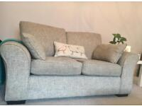 Next sofas (x2) plus armchair and footstool suite