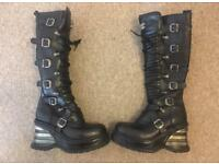 New Rock ladies size 7, immaculate - never been worn out