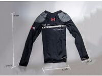 Under Armour Mens (Kids) Recharge Energy Shirt - Black - S Never been used,