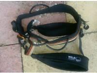 Black country xl unisex climbing harness
