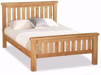 New Salisbury Erne Solid Oak Double Bed IN STOCK NOW