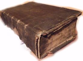 Austrian Family Bible Of The Toe Family Of New York & Whitby, Dated 1617
