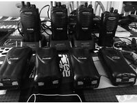 Kenwood protalk 8 in total 3 chargers will split to smaller groups. Sensible offers