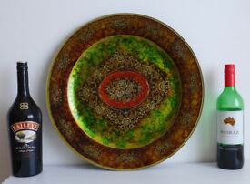 Large 45cm diameter decorative plate - delivery possible