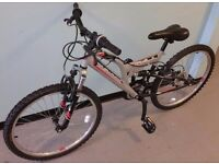 ELSWICK 20in boys full suspension mountain bike for sale ( very good cond.)